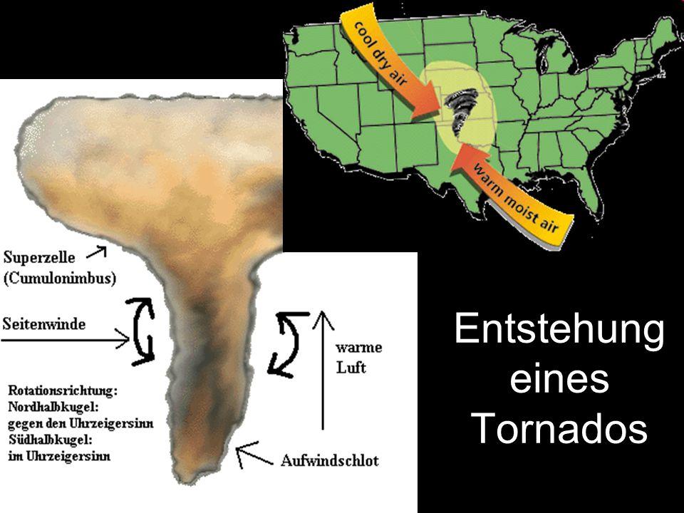 Entstehung eines Tornados