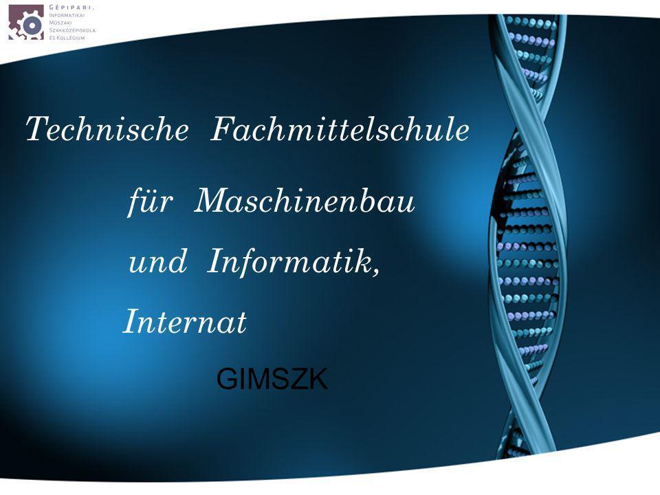 Fachmittelschule fürMaschinenbau und Informatik, Technische Internat GIMSZK