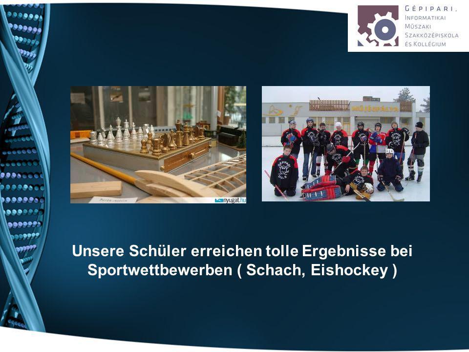 Unsere Schüler erreichen tolle Ergebnisse bei Sportwettbewerben ( Schach, Eishockey )