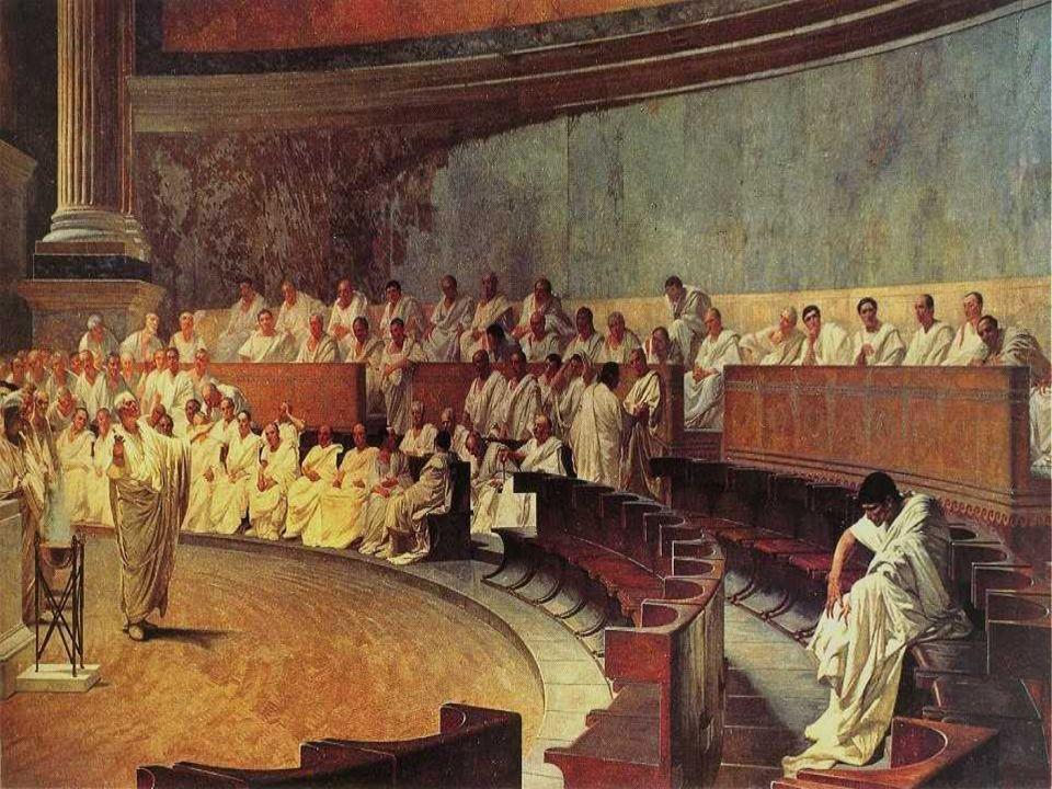 Leben nach dem Konsulat Cicero denkt immer republikanisch, weshalb er ein Triumvirat mit Caesar (Nr.