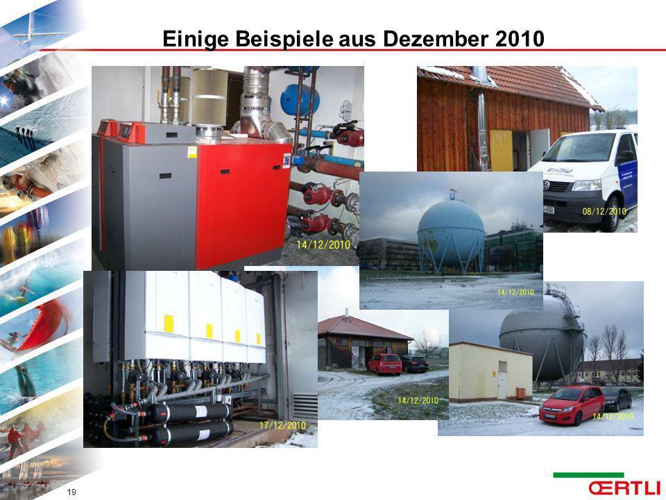 Einige Beispiele aus Dezember 2010 19