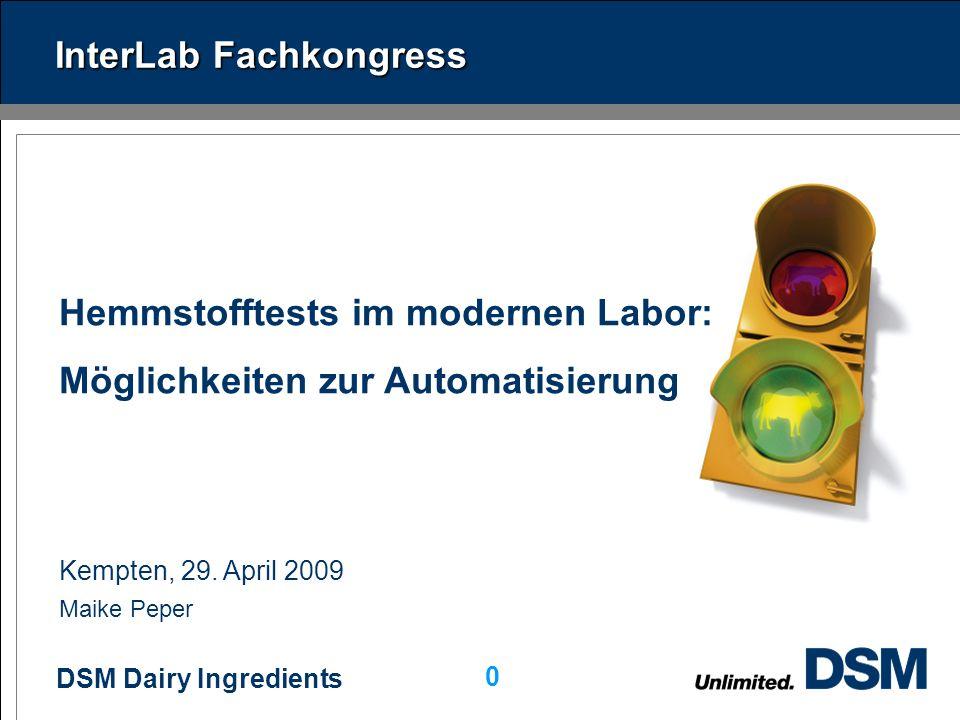 DSM Dairy Ingredients 0 Kempten, 29.