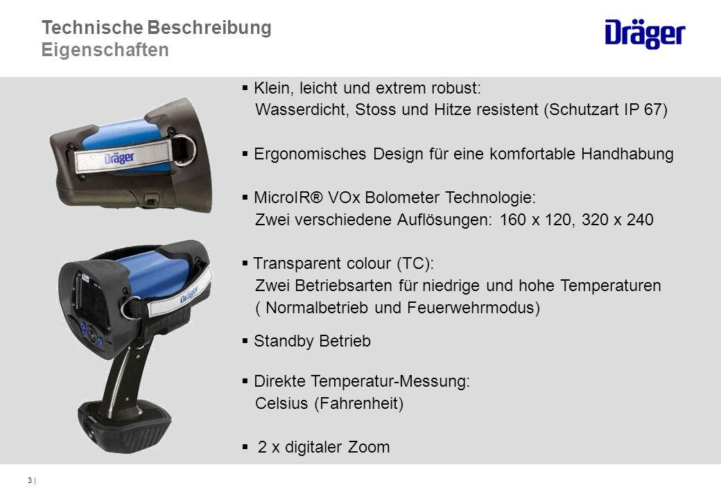 24 | Thermal Scan Tasten (optional) Bedienung ThermalScan Funktion (optional) Aktivieren: Entweder die Down- oder UP- Taste ungefähr 1 sec lang gedrückt halten Auf dem Bildschirm wird TS > 60°C angezeigt.