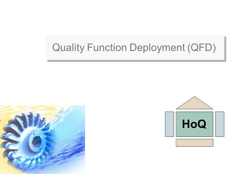 Quality Function Deployment (QFD) HoQ