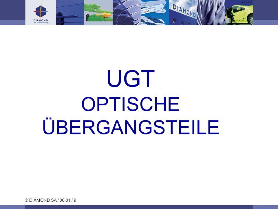 © DIAMOND SA / 06-01 / 9 UGT OPTISCHE ÜBERGANGSTEILE