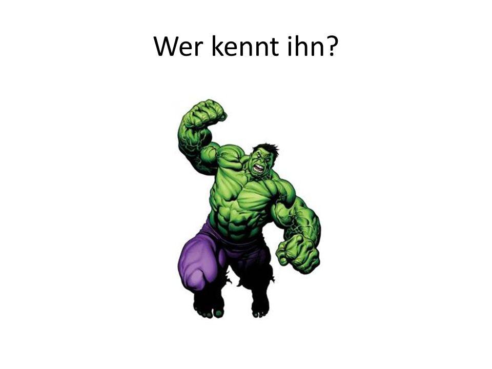 Wer kennt ihn?
