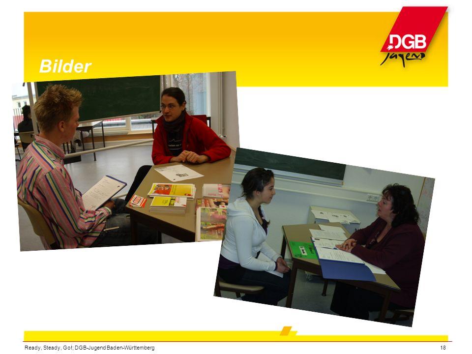 Ready, Steady, Go!; DGB-Jugend Baden-Württemberg18 Bilder