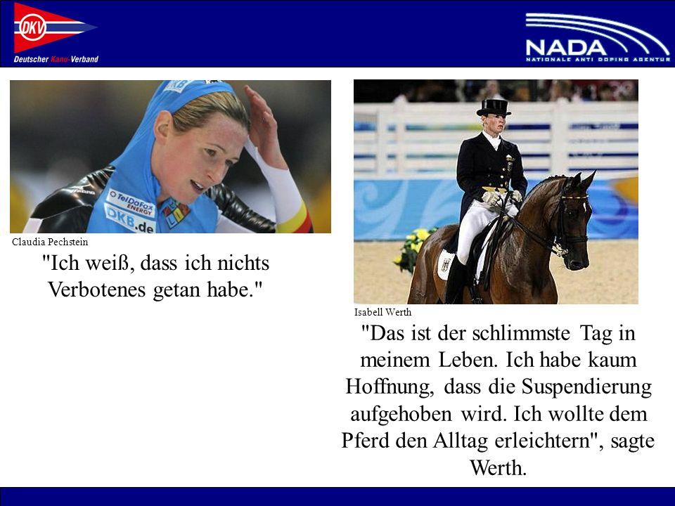 © NADA 2008 Wer wird kontrolliert.