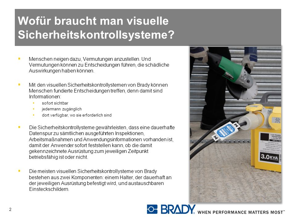 Wofür braucht man visuelle Sicherheitskontrollsysteme.