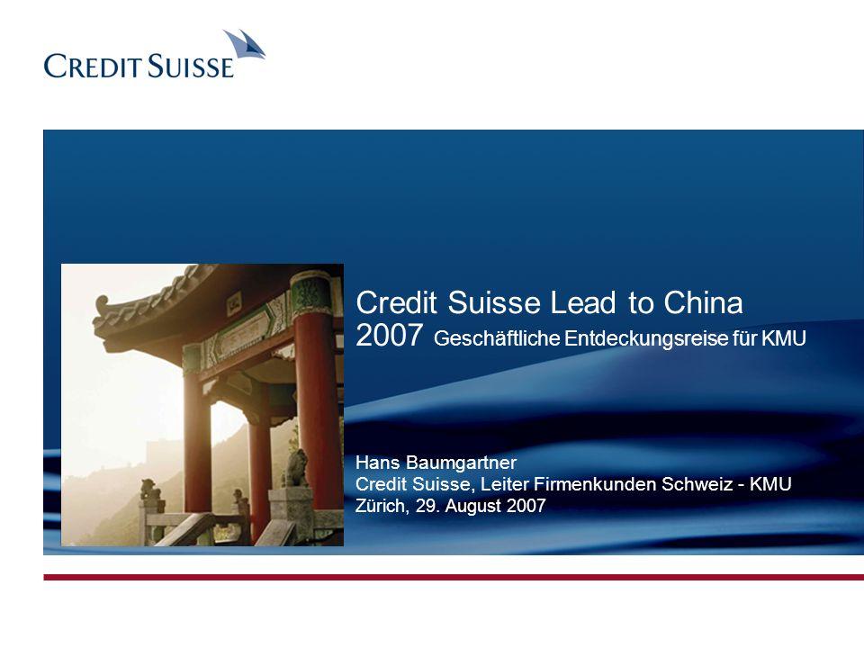 Produced by: Simon Bühler Date: 09.07.07 Slide 2 Warum eine KMU-China-Reise .
