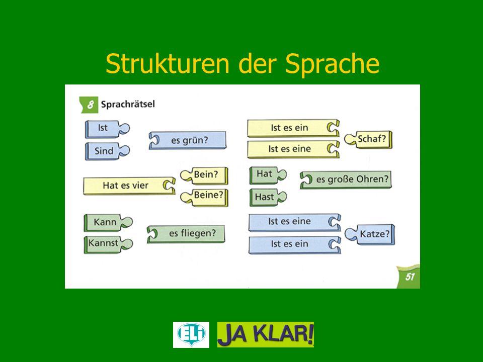 Strukturen der Sprache