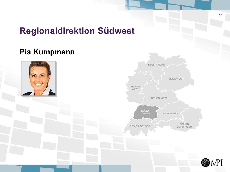 15 Regionaldirektion Südwest Pia Kumpmann