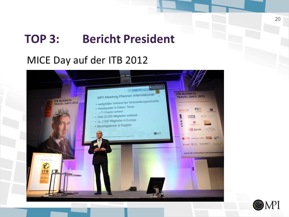 TOP 3: Bericht President MICE Day auf der ITB 2012 20