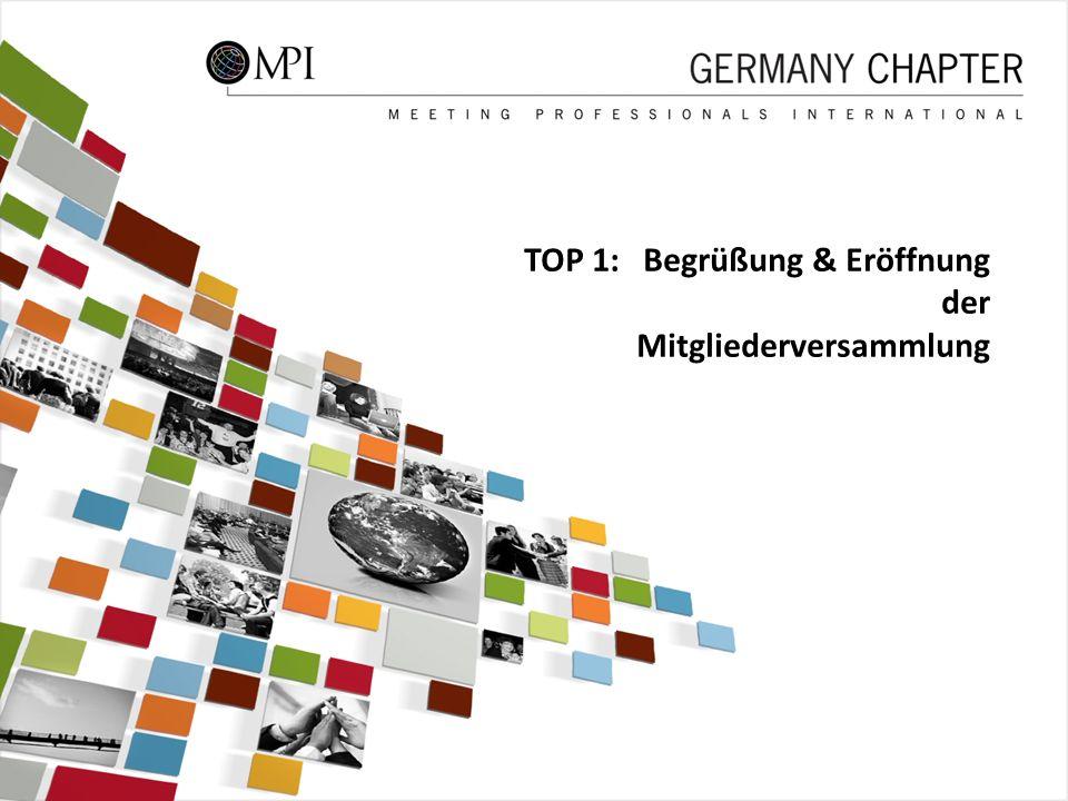 3 TOP 1: Begrüßung & Eröffnung der Mitgliederversammlung