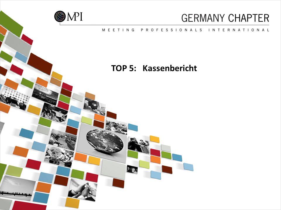 41 TOP 5: Kassenbericht