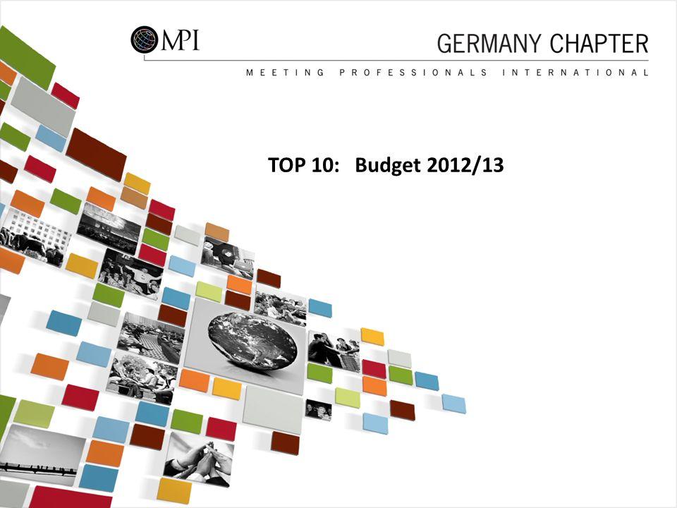 48 TOP 10: Budget 2012/13