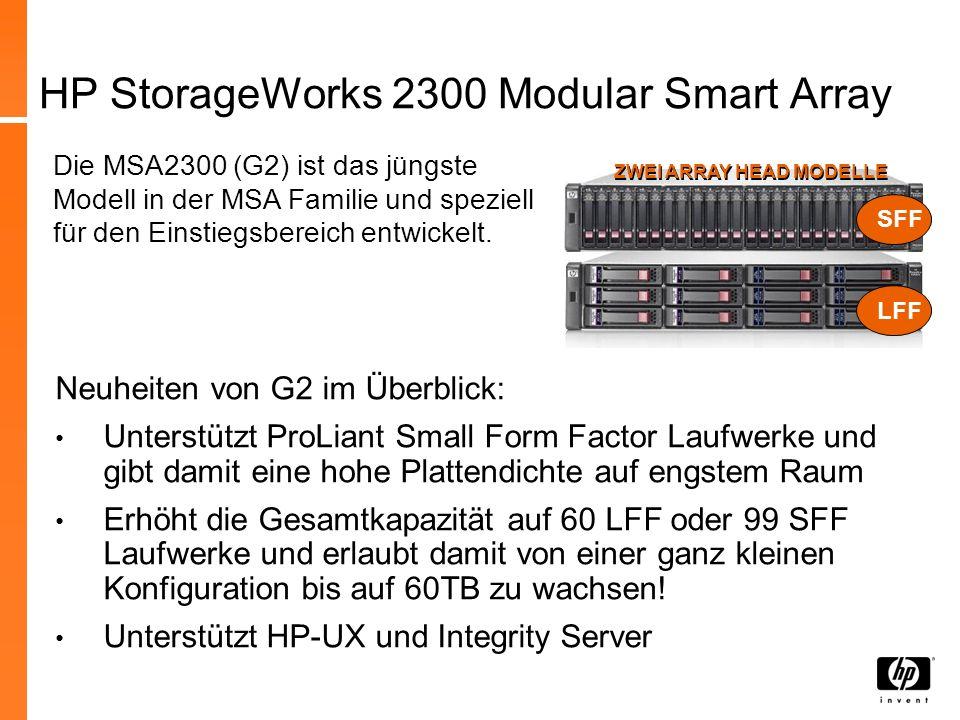 MSA2000sa G2 – DL380G6 Package Cluster Bundle