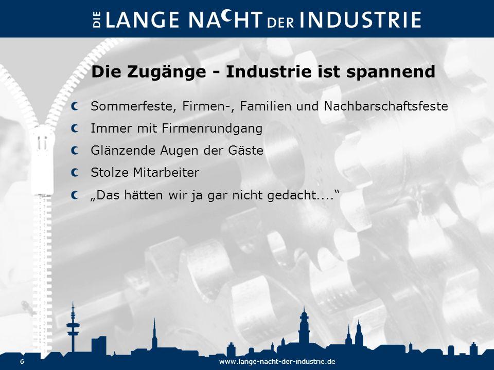 27www.lange-nacht-der-industrie.de Eckdaten Hamburg: 12.