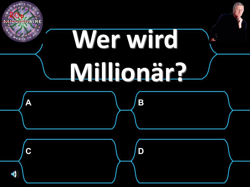 AB CD Wer wird Millionär?