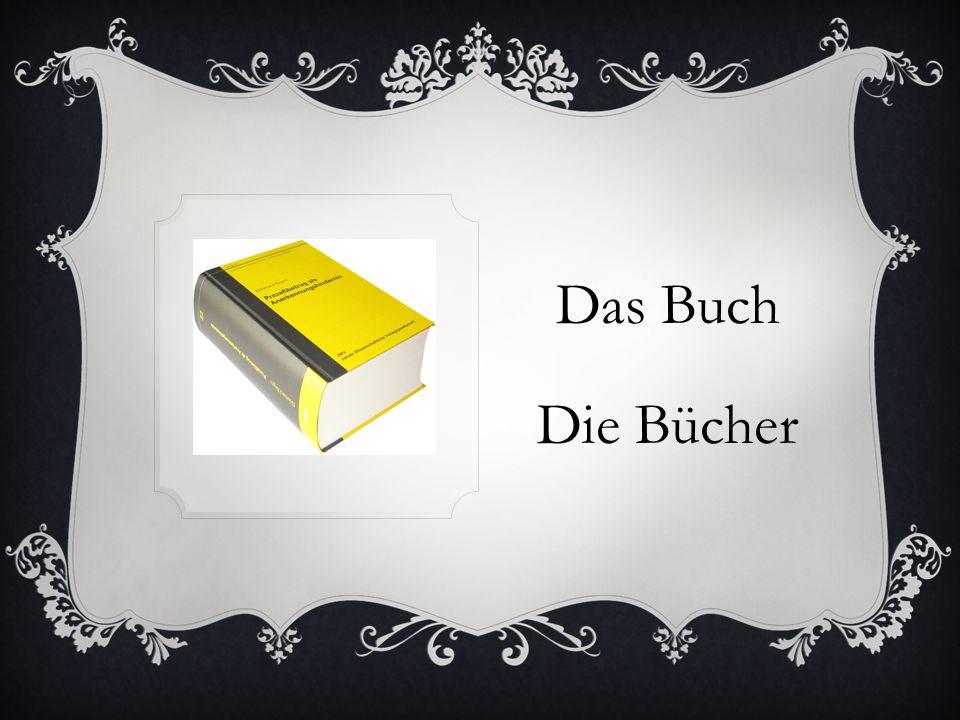Das Buch Die Bücher