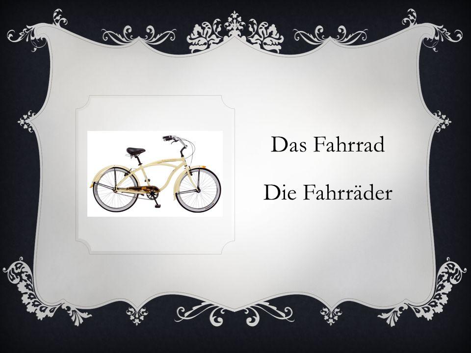 Das Fahrrad Die Fahrräder
