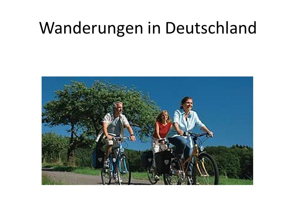 Radfahren in Deutschland ist hoch entwickelt.