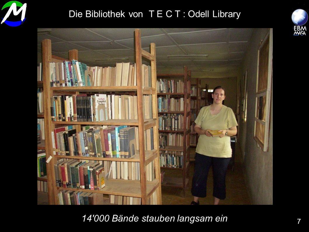 14'000 Bände stauben langsam ein 7 Die Bibliothek von T E C T : Odell Library