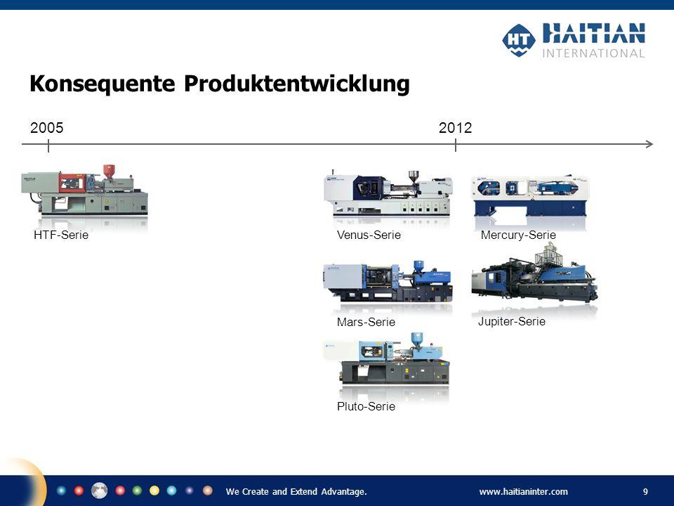 We Create and Extend Advantage.www.haitianinter.com 10 Fertigungsstandort in Deutschland Fertigungsstandort in Vietnam Fertigungen in Asien und Deutschland Gesamte Fertigungsfläche in China über 130.000 m 2 Fertigungsstandort in Brasilien
