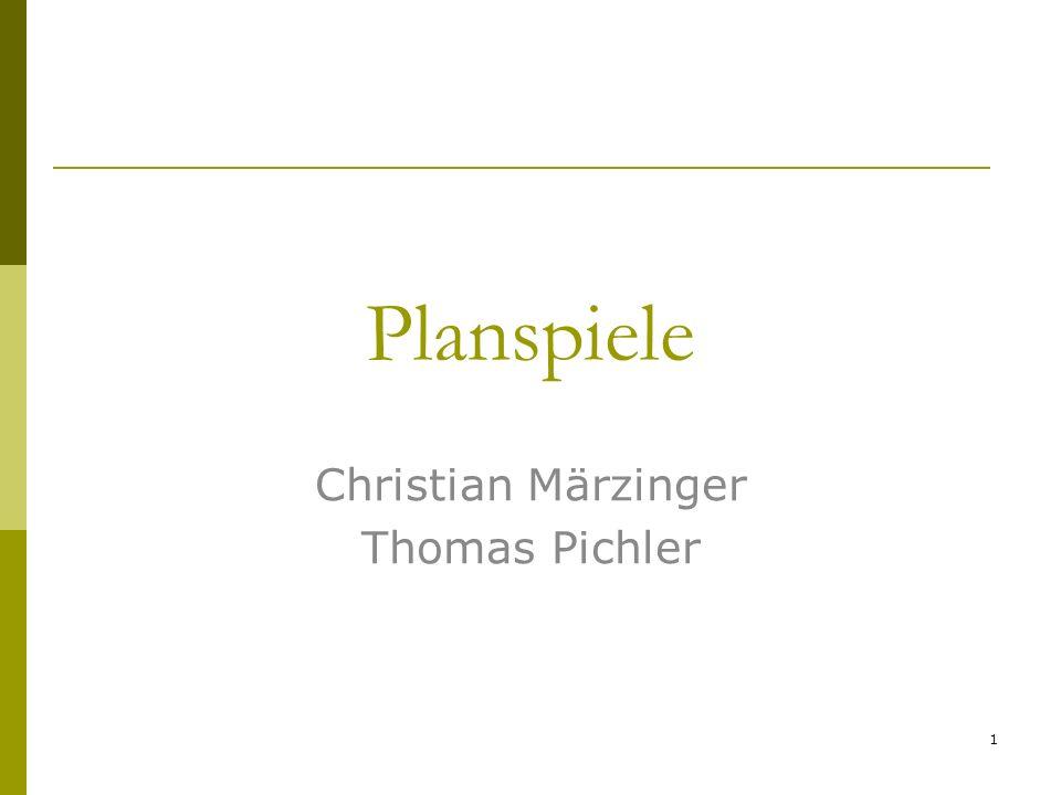 Planspiele Christian Märzinger Thomas Pichler 1