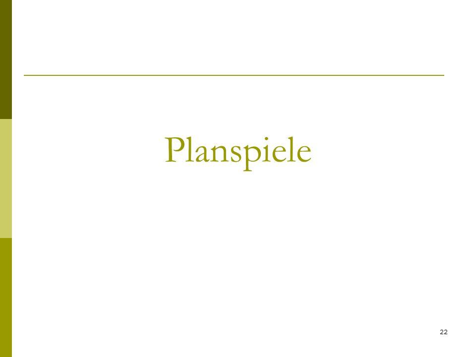 Planspiele 22