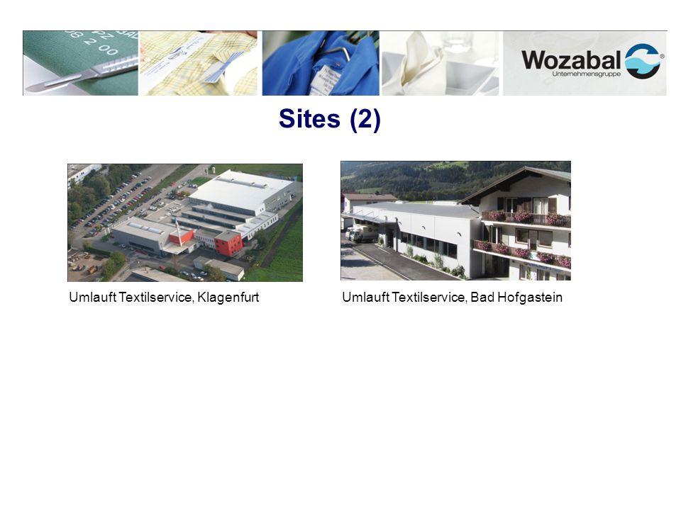 Sites (2) Umlauft Textilservice, KlagenfurtUmlauft Textilservice, Bad Hofgastein