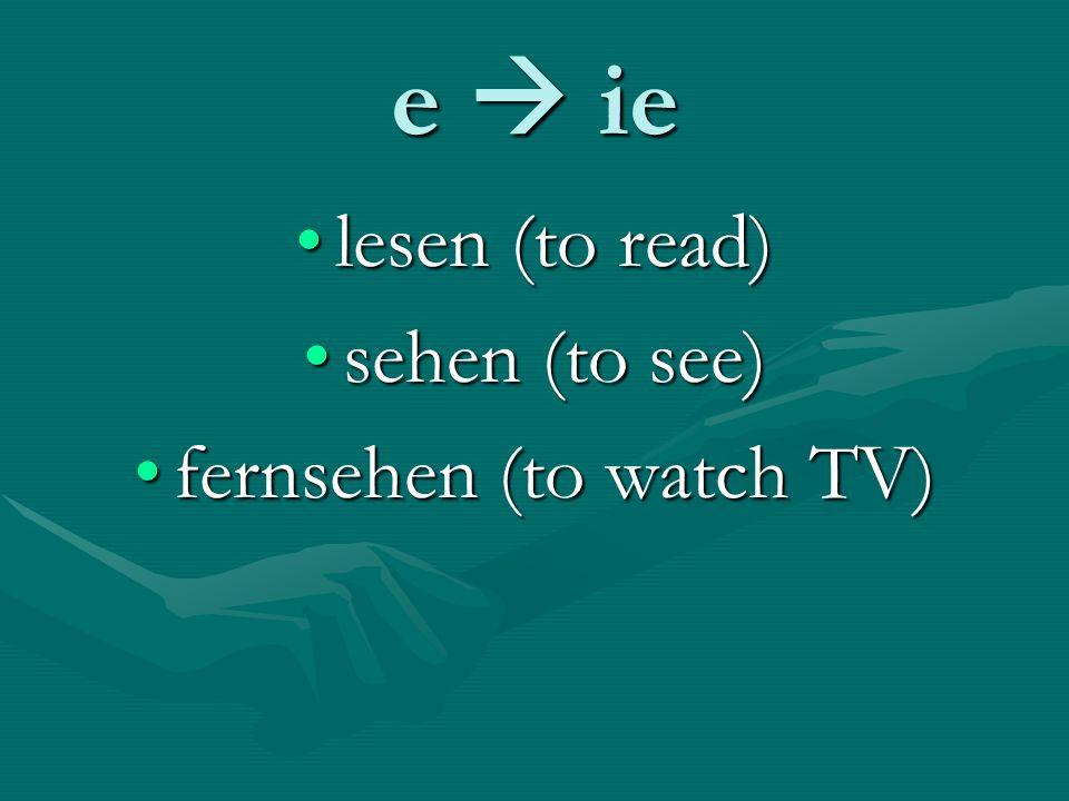 Sentence Jumbles 1.Frank / lesen / nur Kinderbücher 2.du / schlafen / 15 Stunden / jede Nacht.