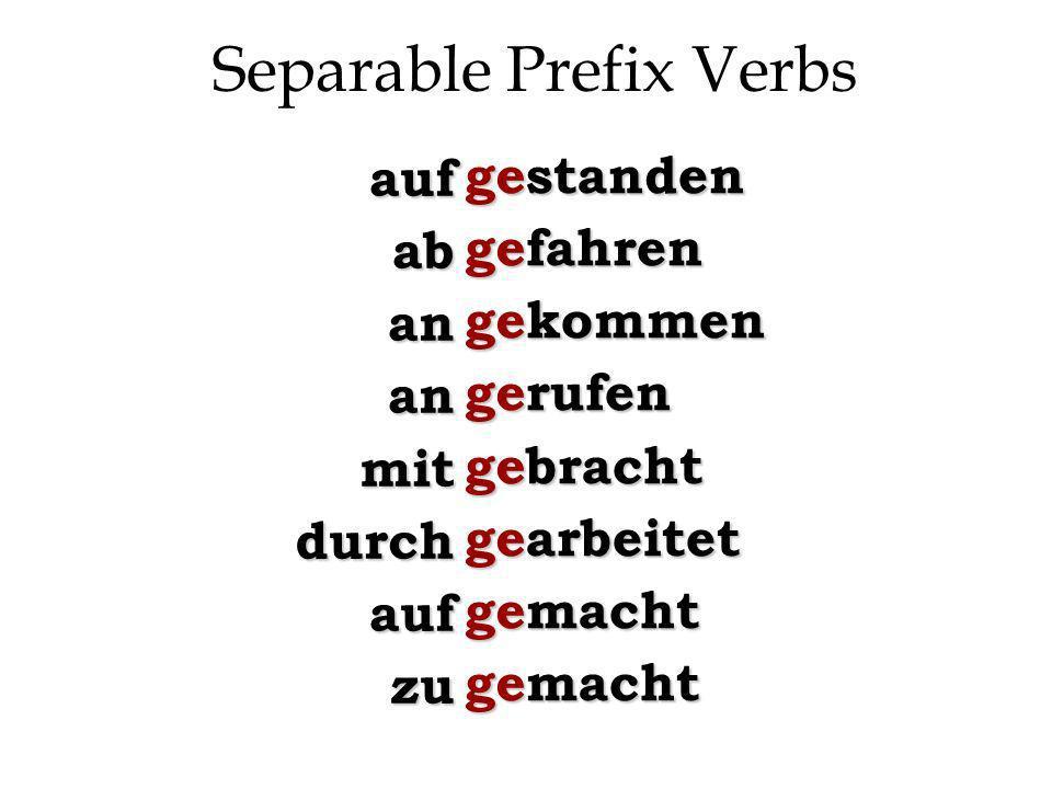When to use sein sein vs.