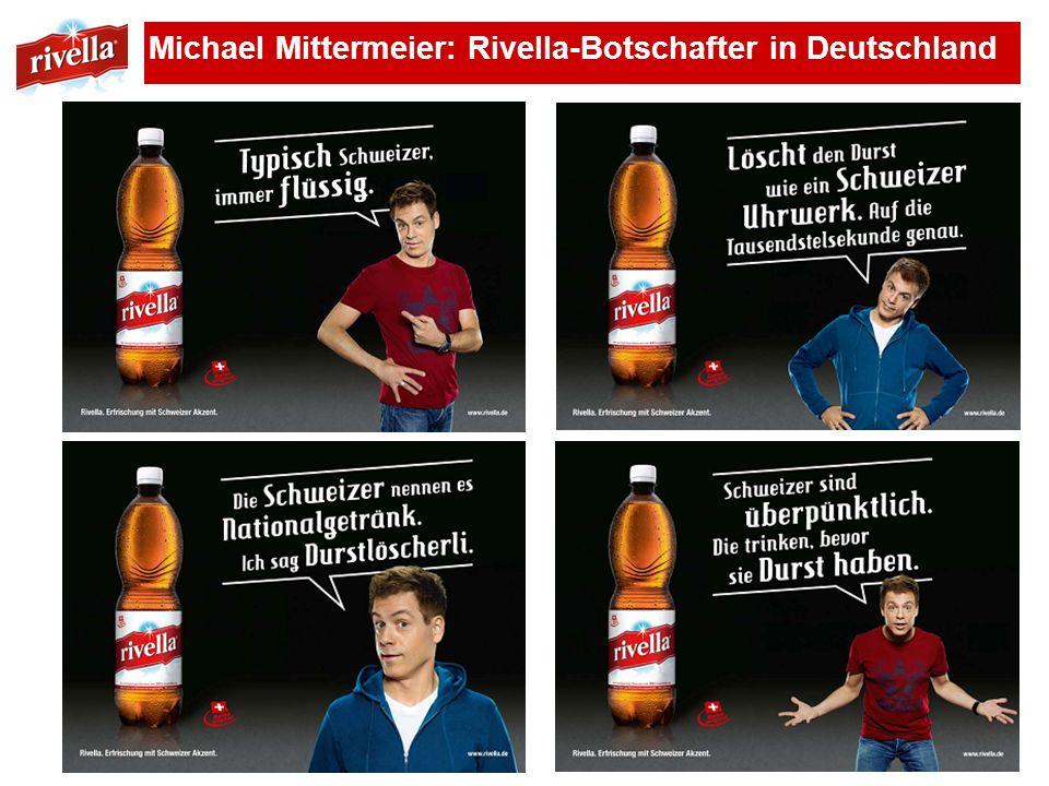 Michael Mittermeier: Rivella-Botschafter in Deutschland