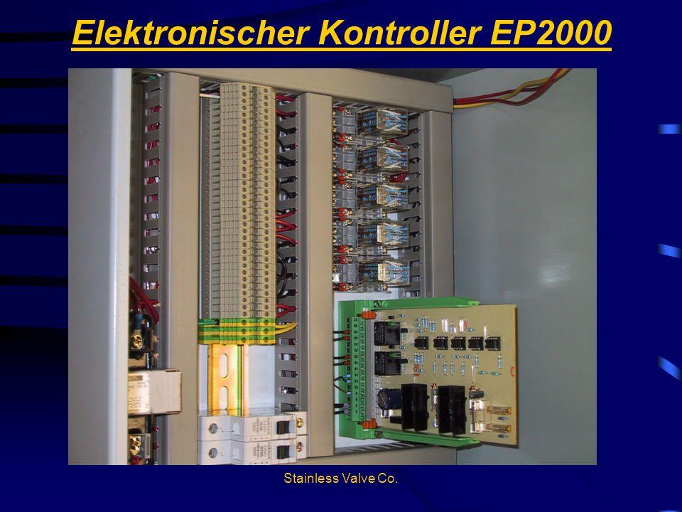Stainless Valve Co. Elektronischer Kontroller EP2000
