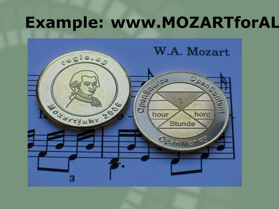 Example: www.MOZARTforALL.org