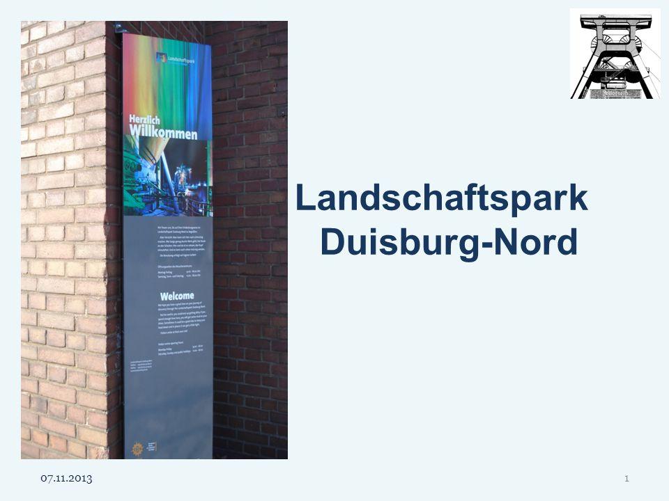 Landschaftspark Duisburg-Nord 07.11.20131
