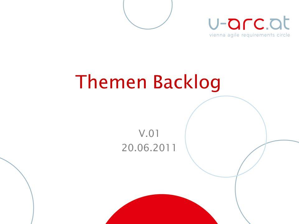 Themen Backlog V.01 20.06.2011