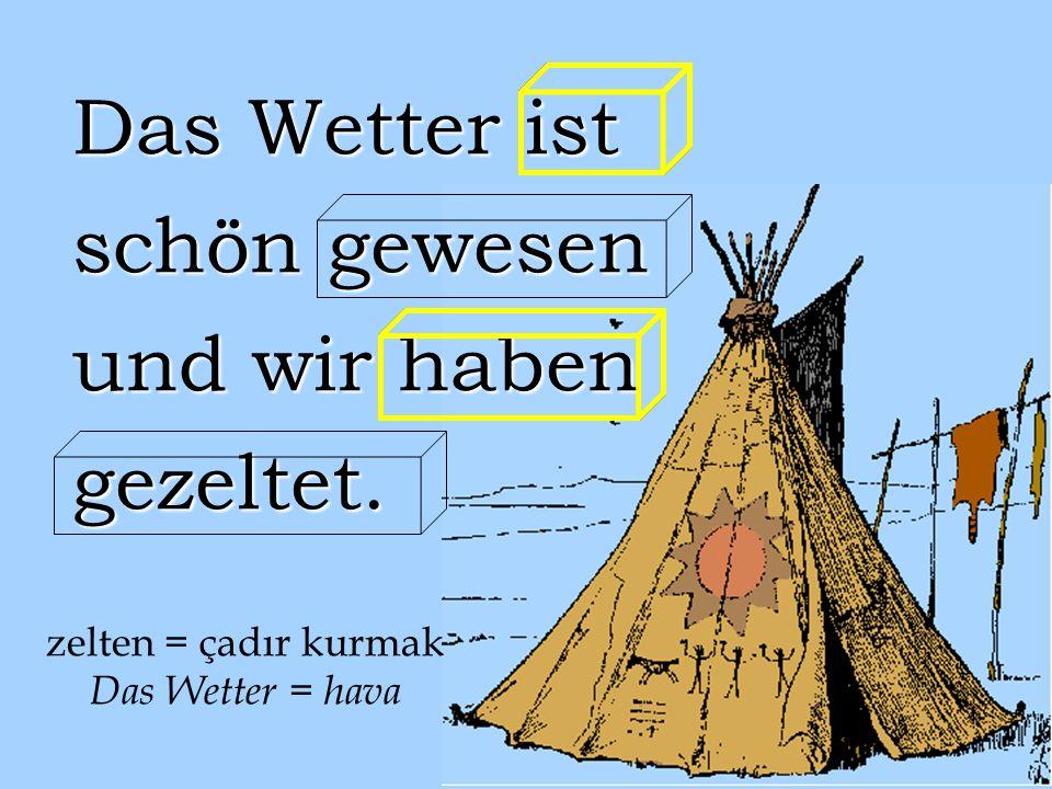Ich habe Englisch gelernt. Jetzt lerne ich Deutsch. Mein Deutschlehrer ist M. Köken. bringen Haben bringen Haben gebracht Gehabt