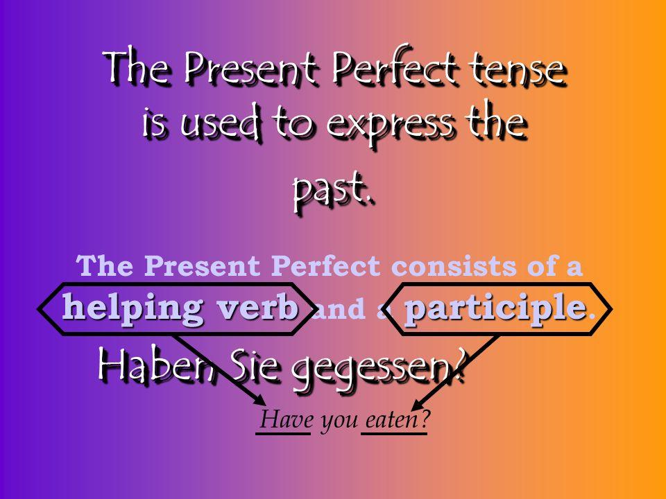 Present Perfect www.iznikçini.com PerfektPerfekt