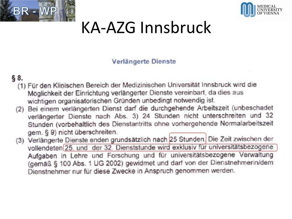 KA-AZG Innsbruck