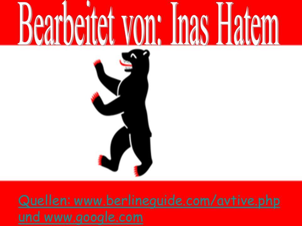 Quellen: www.berlineguide.com/avtive.php und www.google.com