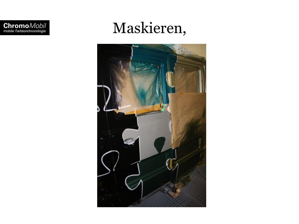 Maskieren,