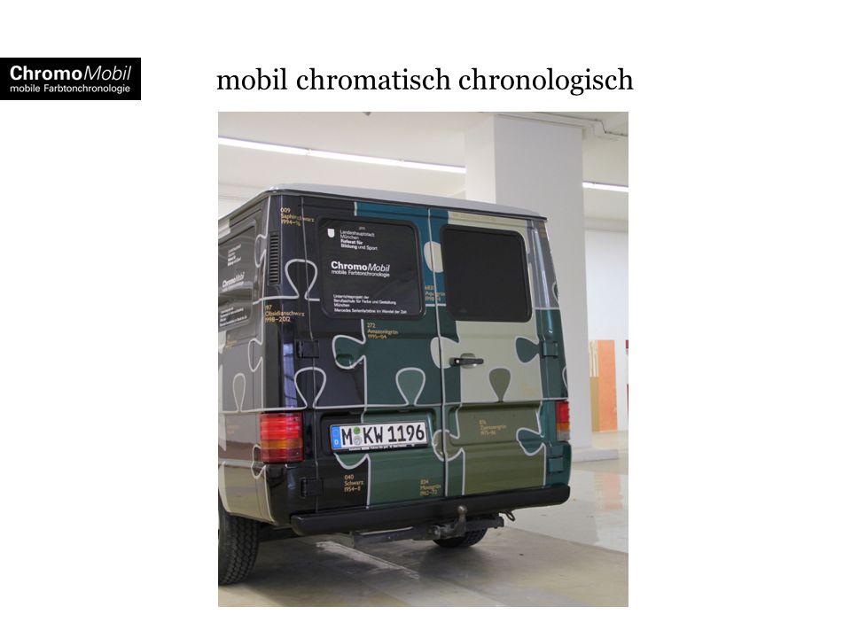 mobil chromatisch chronologisch