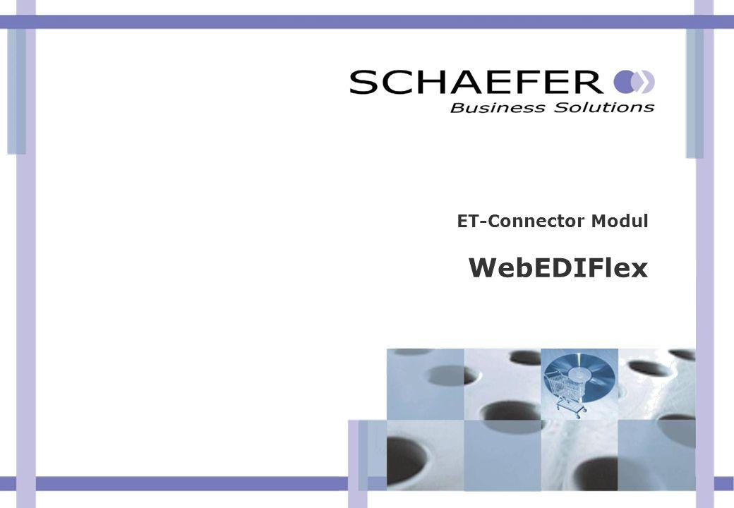 ET-Connector Modul WebEDIFlex