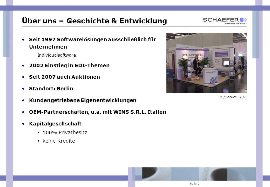 Folie 23 Ausgewählte Partnerverbindungen (national) ABB AIRBUS ARIBA BASWARE (FirstBusinessPost) BEKA BOSCH BOSCH REXROTH BRAMMER HUBWOO COMPAREX COMPUTACENTER CONTINENTAL DAIMLER AG DANA REINZ DHL Deutschland EASYLINK FELS WERKE E/D/E EDEKA E.ON Ruhrgas GLUNZ E.ON IS EPCOS EUROBAUSTOFF FESTO GILETTE-BRAUN GLUNZ HAGEBAU HERAEUS HOFFMANN-GOEDDE HORNBACH HYDAC JUNGHEINRICH KENNAMETALL KRAUS-MAFFEI KRUPP KROSCHKE LEICHER LECHLER LINDE GAS LUMBERG M-EXCHANGE MAGNA MAN MARKANT MAX BAHR MERKEL-FREUDENBERG MEKRA MERCK METRO MGP M+W ZANDER MTU NEXMART NEWTRON NOTHELFER OBI OPTIBELT OTTO PORSCHE PRECITOOL RAAB KARCHER REWE REYHER SCHAEFER SHOP SIMPLE SYSTEM SIEMENS SEAT SKF SKODA SONEPAR STEHA STIHL SWM TRW UPS VATTENFALL VW WALLMEDIEN WALMART WURTH WÜRTH ZF