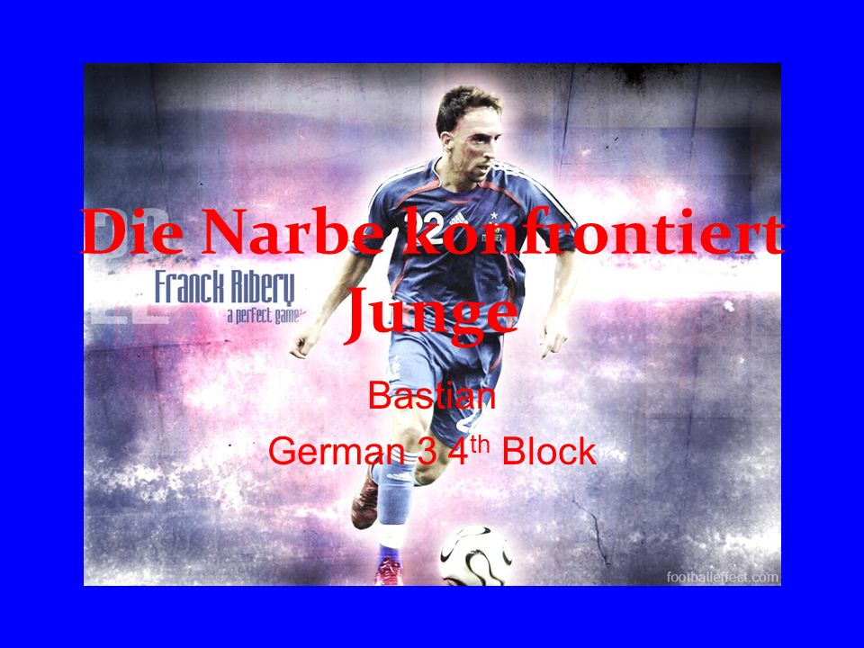 Die Narbe konfrontiert Junge Bastian German 3 4 th Block