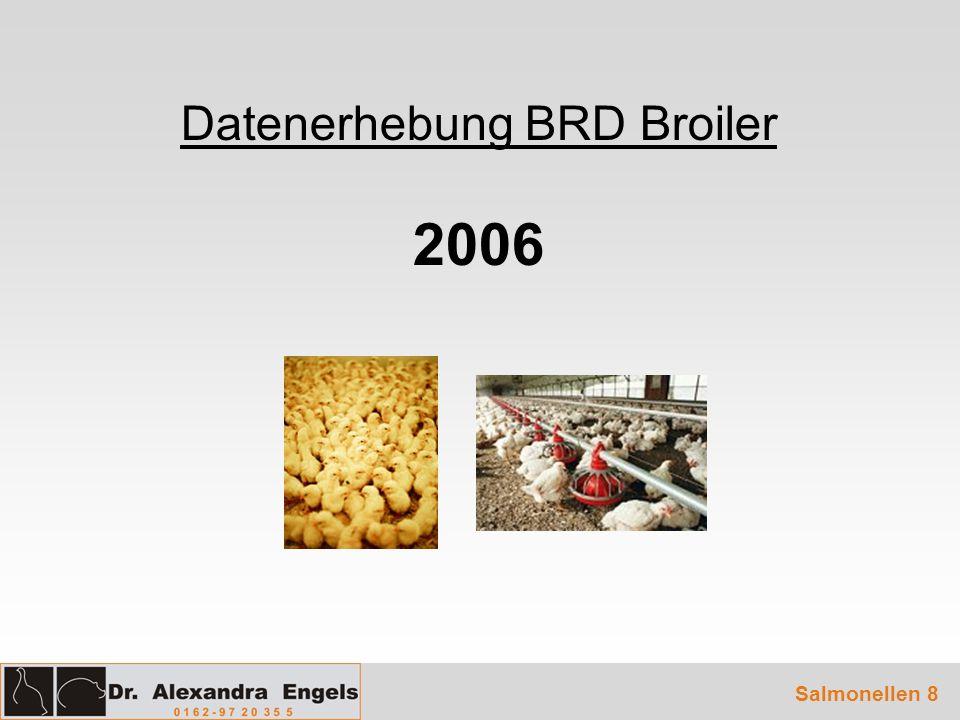 Datenerhebung BRD Broiler 2006 Salmonellen 8