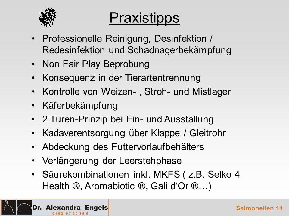 Praxistipps Professionelle Reinigung, Desinfektion / Redesinfektion und Schadnagerbekämpfung Non Fair Play Beprobung Konsequenz in der Tierartentrennu