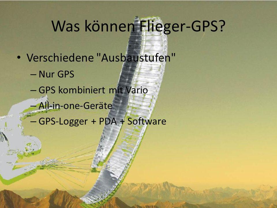 Was können Flieger-GPS.